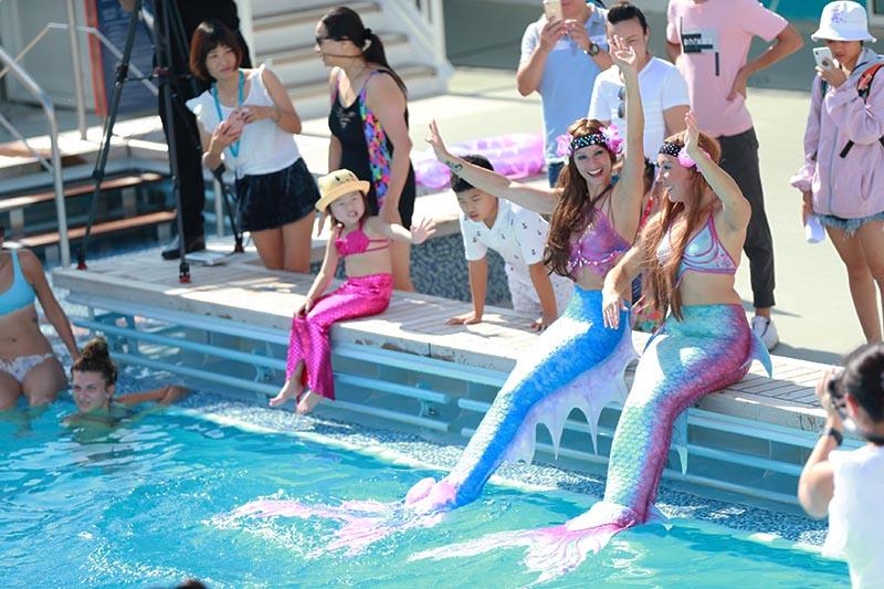 Arbeiten als Meerjungfrauen-Entertainer