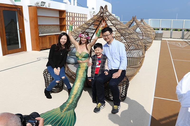 Echte Meerjungfrauen auf Veranstaltungen