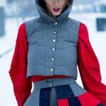 Fashionshooting im Schnee