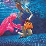 Katrin Gray als Unterwassermodel