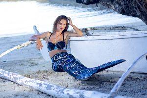 Katrin Gray arbeitet als Meerjungfrauenmodel