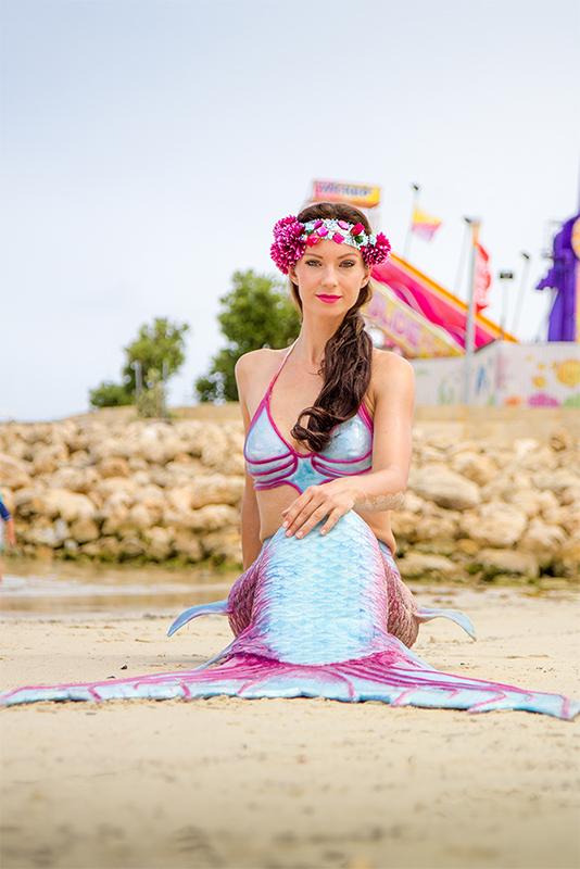Traumjob Meerjungfrau - Verzaubern von Gästen auf Events
