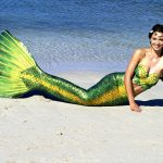 Katrin Gray arbeitet als internationale Meerjungfrau
