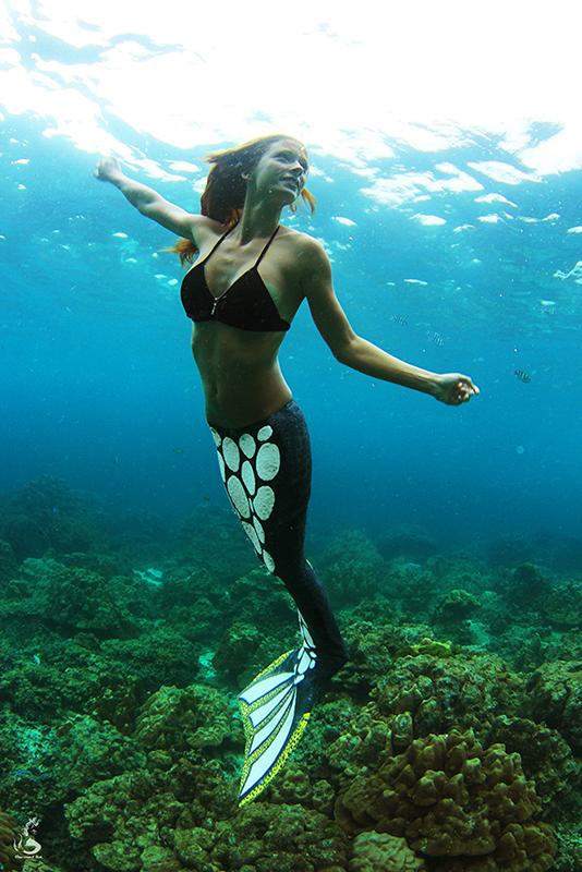 Traumjob Meerjungfrau - Apnoetechniken für Unterwassermodels