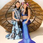 Meerjungfrau trifft Miss China