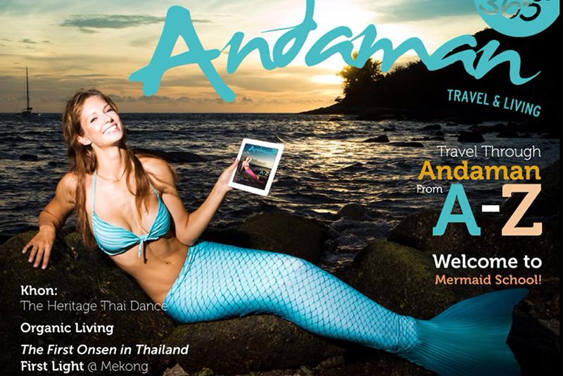 Mermaid Kat in Thailand