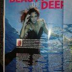 Unterwassermodel Katrin Gray im Diver Magazin
