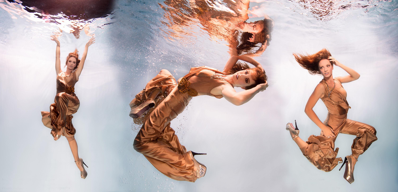 Katrin Gray arbeitet als Unterwassermodel