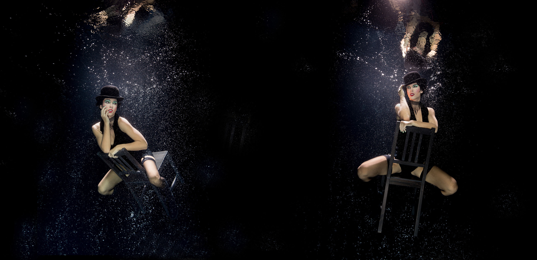 Katrin Gray ist Unterwasserstuntfrau
