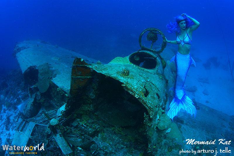 Meerjungfrau in Truk Lagoon