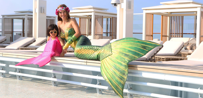 Meerjungfrauen verzaubern auf Events