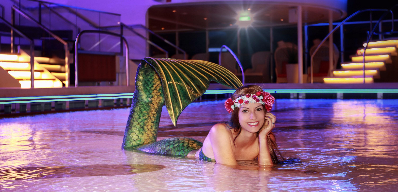 Professionelle Meerjungfrau Mermaid Kat