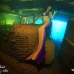 Truk Lagoon Meerjungfrau in Schiffswrack