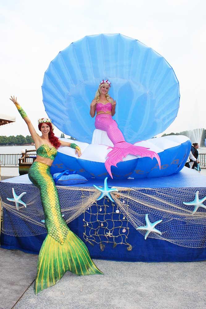 Nixen und Meerjungfrauen für Events