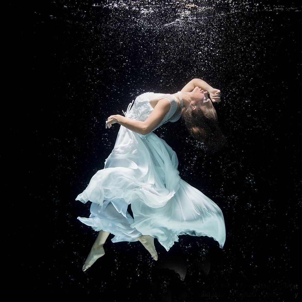 Von Beruf Unterwassermodel