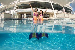 Von Beruf Meerjungfrau und Apnoe-Trainer