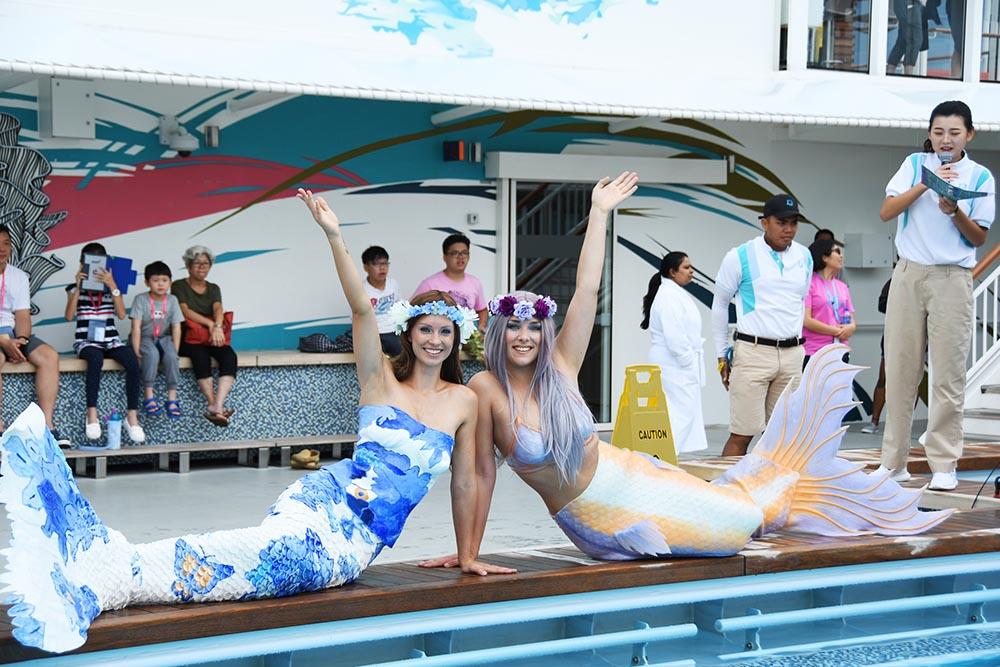 Nixen und Meerjungfrauen für Veranstaltungen und Events