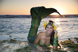 Katrin Gray arbeitet als Nixe Mermaid Kat