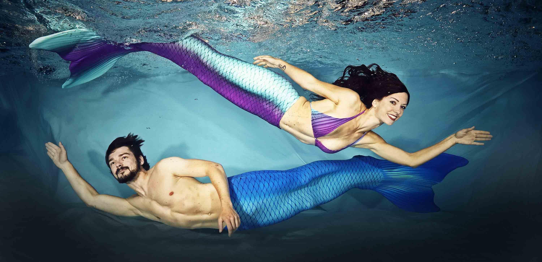 Meerjungfrauen für Events und Veranstaltungen
