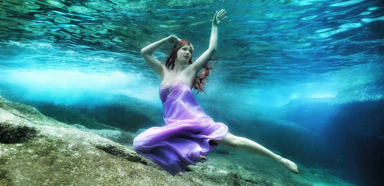 Unterwassermodel Katrin Gray - Mermaid Kat
