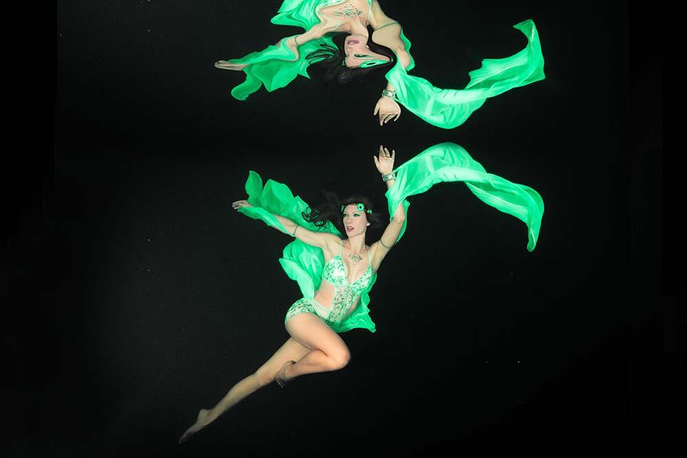 Unterwassermodel Katrin Gray