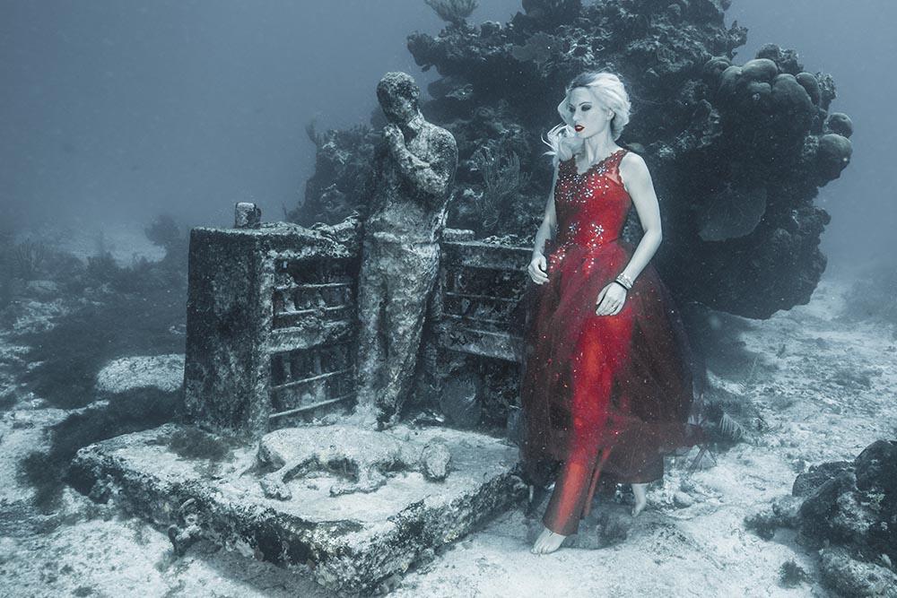 Unterwassermodel werden