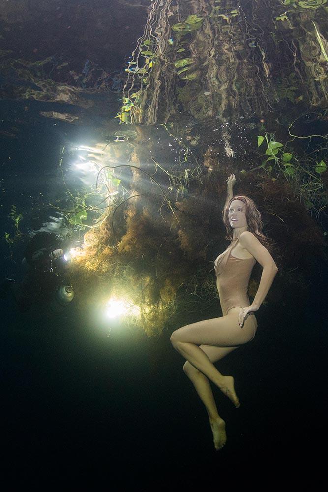 Unterwassermodel werden leicht gemacht
