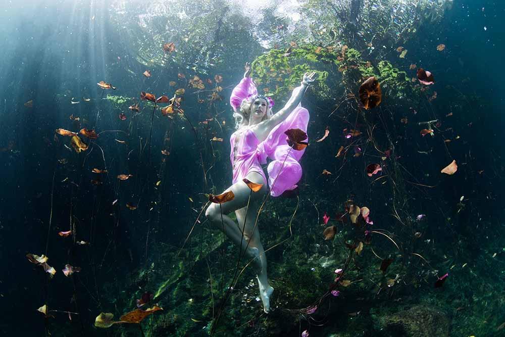 Unterwassermodel werden mit Tipps vom Profi