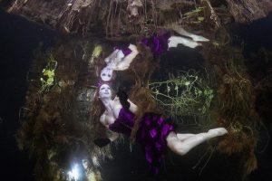 Wie kann ich Unterwassermodel werden