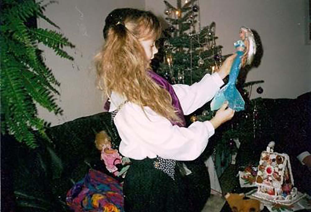 Schon als Kind wollte Katrin eine Meerjungfrau sein