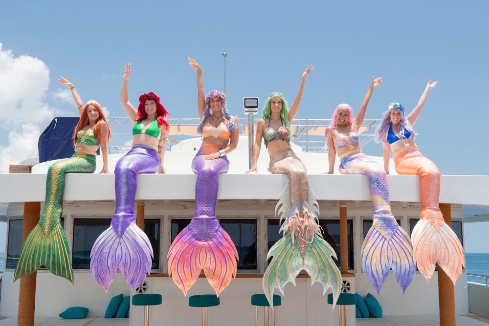 Meerjungfrauen auf den Malediven - Komm zur Mermaid Week