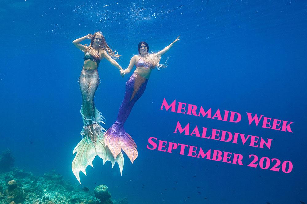 Meerjungfrauen-Urlaub auf den Malediven mit Mermaid Kat