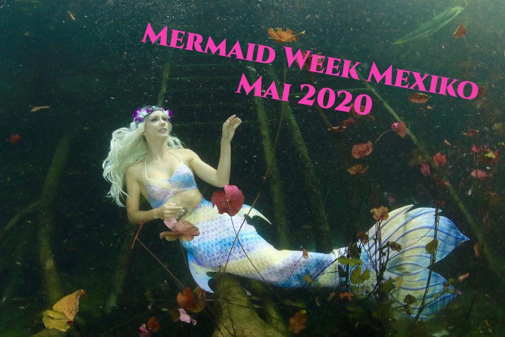 Meerjungfrauen-Urlaub in Mexiko mit Mermaid Kat Mermaid Week