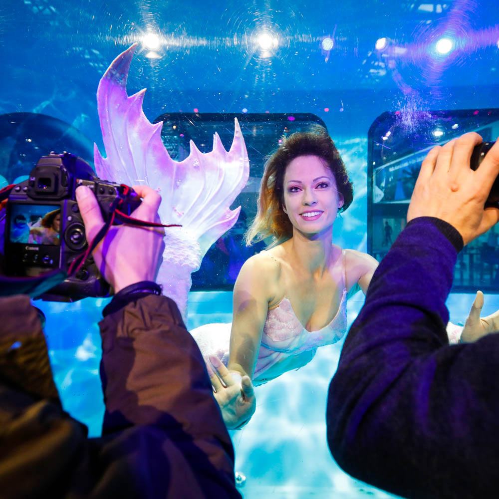 Buche echte Meerjungfrauen für Veranstaltungen