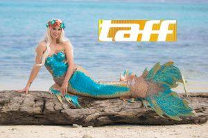 Deutsches Model arbeitet als Meerjungfrau in Australien - TAFF Prosieben