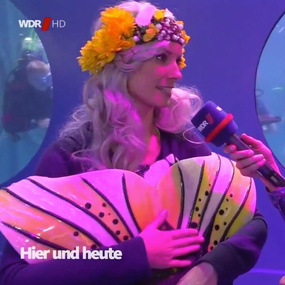 Eine echte Meerjungfrau im Interview