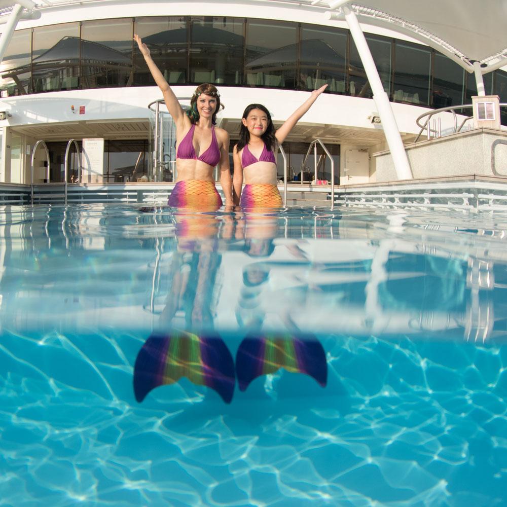 Komm zur Meerjungfrauenschule - Mermaid Kat Academy