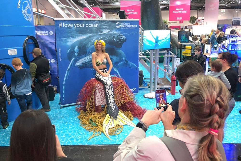 Meerjungfrau buchen - Mermaid Kat für Veranstaltungen
