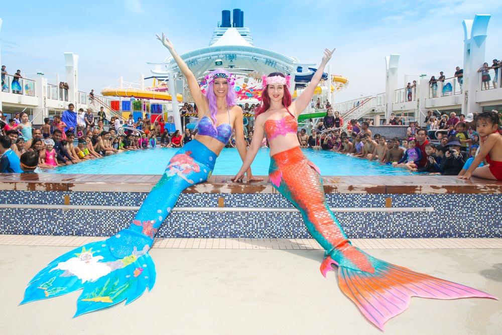 Meerjungfrau buchen für Events und Veranstaltungen