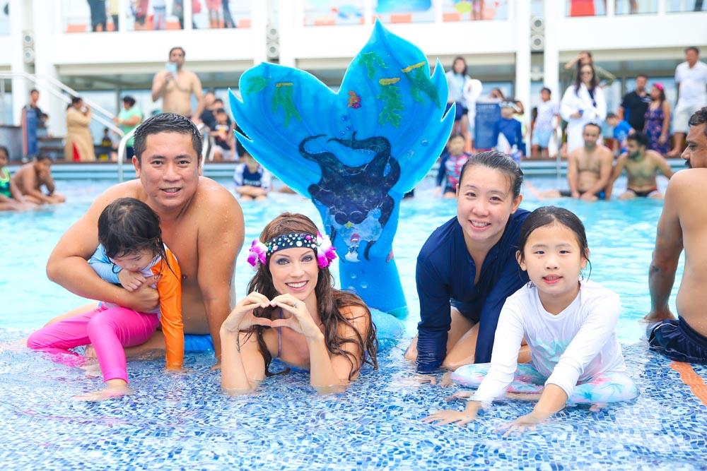 Meerjungfrau buchen für Veranstaltungen