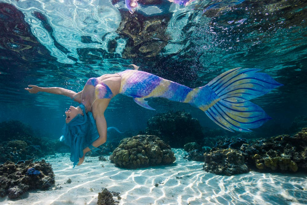 Katrin Gray macht Karriere als Meerjungfrau