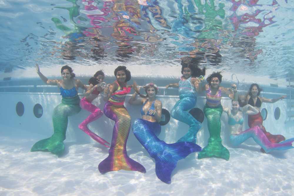 Was ist Mermaiding - Mermaiding-Kurs Dresden