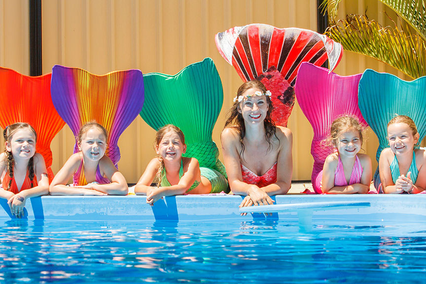 Wasserfrau werden - Meerjungfrauenschule