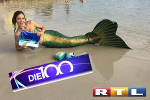 Meerjungfrau Mermaid Kat bei die 100 schrägsten Freizeiterlebnisse auf RTL