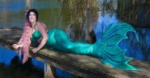 Meerjungfrauenflosse aus Silikon selber machen