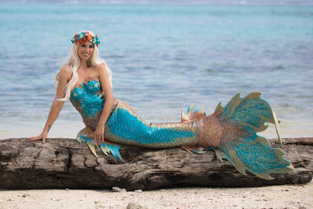 Meerjungfrauenschwanzflosse - Silikonflosse selber machen