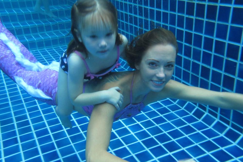 Geburtstag feiern mit einer Meerjungfrau - Meerjungfrau mieten