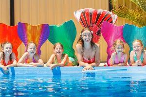 Meerjungfrauengeburtstag - Kindergeburtstag als Meerjungfrau