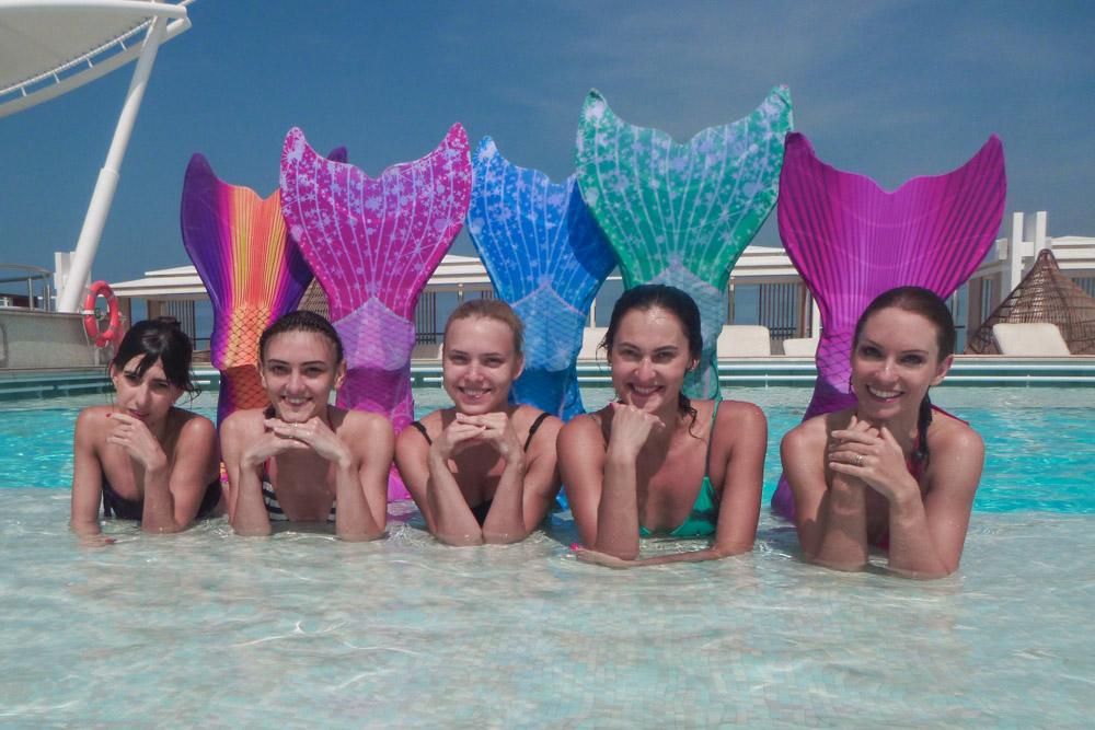 Meerjungfrauengeburtstagsfeier