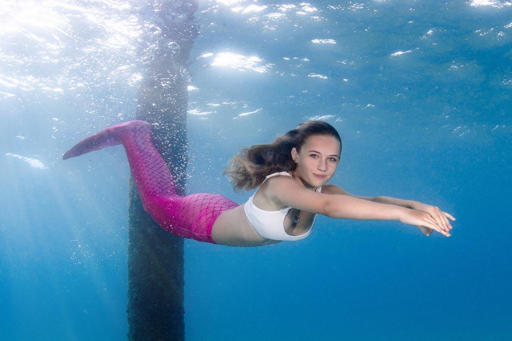 Mermaid Schwimmen - Schwimmen wie bei H2O
